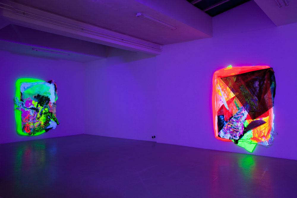 Exhibition view, Group show @ Juliette Jongma Gallery Amsterdam  w/Astrit Ismaili, Sophie Serber and Florian & Michael Quistrebert 24 November 2017 - 6 January 2018