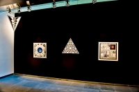 , installation View at Austrian Cultural Forum, NYC, 2010 c/ Paul Laffoley.